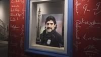 Tega! Ada yang Viralkan Foto Jenazah Diego Maradona