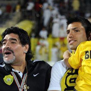 Diego Maradona Meninggal, Sergio Aguero Tulis Pesan Ini