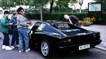 Cerita Diego Maradona Minta Ferrari Warna Hitam yang Ada AC dan Stereo