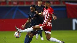 Gol Foden Bawa Man City Unggul 1-0 atas Olympiakos di Babak I