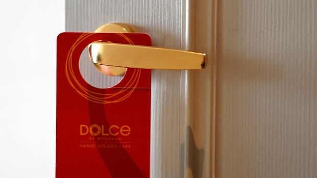 Hotel berlapis emas