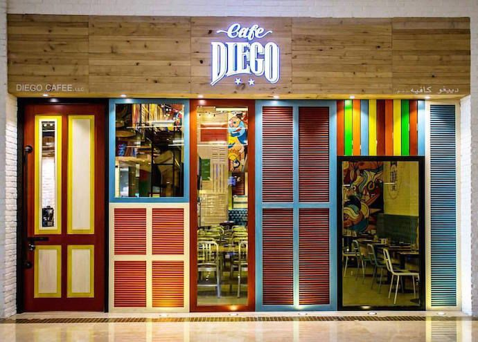 Kafe Diego Maradona di Abu Dhabi