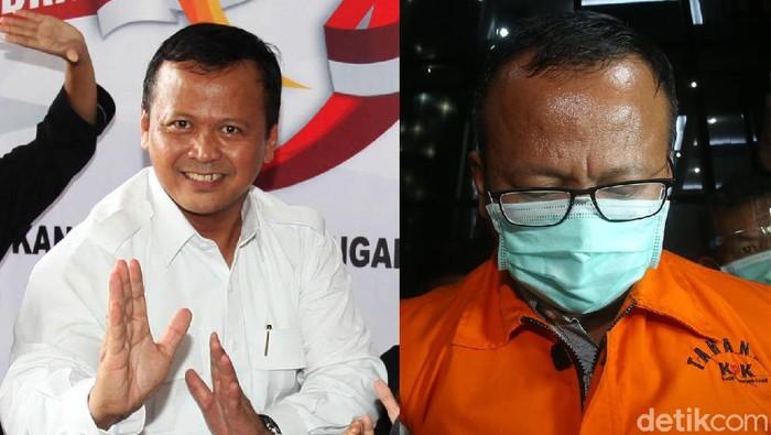 Kolase Edhy Prabowo, menteri kelautan dan perikanan yang ditangkap KPK