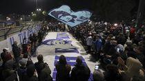 Maradona Tiada, Warga Naples Berduka