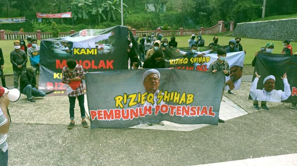 Soal Aksi Penolakan Habib Rizieq, FPI Sukabumi: Menyulut Kegaduhan