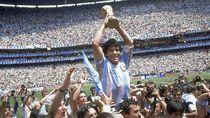 Timnas Inggris Mengucap Selamat Tinggal ke Diego Maradona