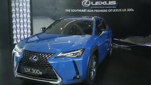 Lihat dari Dekat Lexus UX 300e, Mobil Listrik Seharga Rp 1,24 M