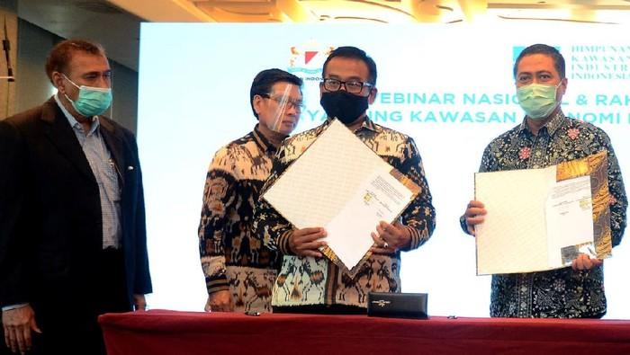 Himpunan Kawasan Industri Indonesia (HKI) menjalin kemitraan dengan BTN guna bersinergi dalam hal pemanfaatan jasa layanan perbankan.
