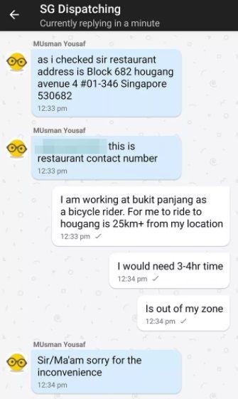 Pengantar Makanan dapat Orderan Sejauh 25 Km