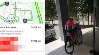 Gegara Aplikasi Eror, Pengantar Makanan Ini Harus Tempuh 25 Km Pakai Sepeda