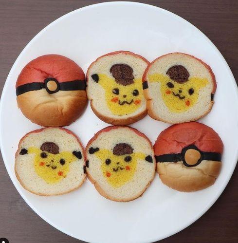 Baker Jepang Bikin Roti Bentuk Doraemon hingga Pokemon