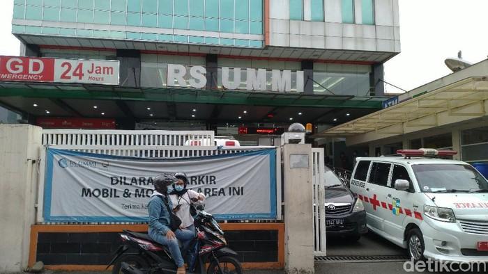 RS UMMI Bogor, lokasi Habib Rizieq dirawat (Sachril/detikcom)
