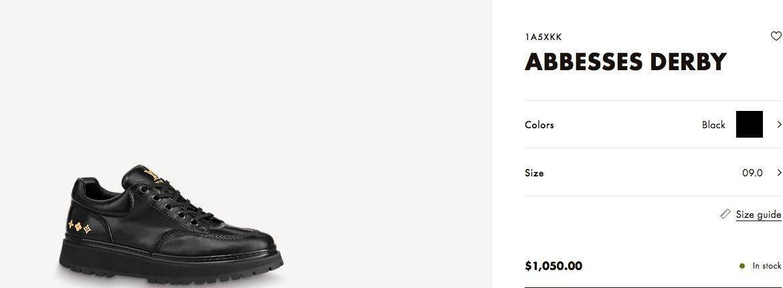 Sepatu dan Tas Louis Vuitton