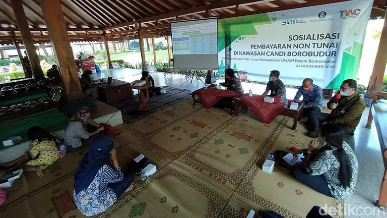Sosialisasi Integrasi Tiket Joglosemar di Borobudur