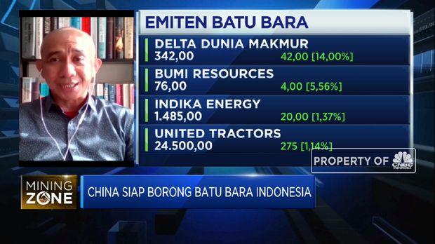 Target Ekspor Batu Bara ke China Capai 200 Juta Ton di 2021  (CNBC Indonesia TV)