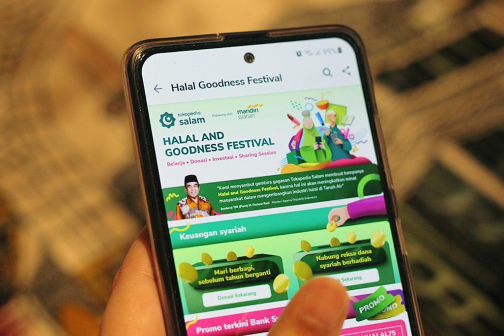 Tokopedia melalui ekosistem Tokopedia Salam mengadakan Halal & Goodness Festival hingga 5 Desember 2020 mendatang.