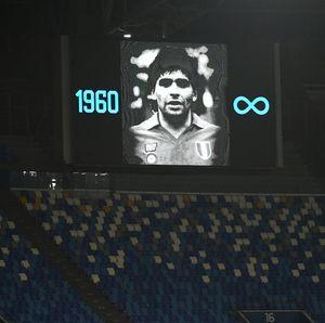 Resmi: Markas Napoli Kini Bernama Stadio Diego Armando Maradona
