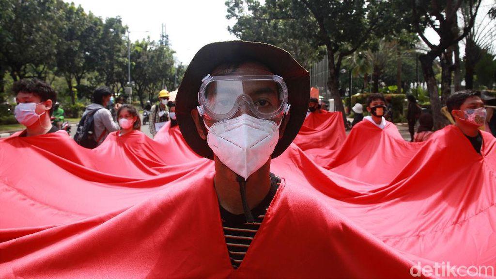 Aksi Tuntut Penanganan Perubahan Iklim