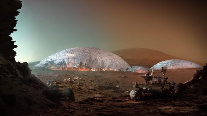 Apa Jadinya Kalau Planet Mars Dibangun Kota?