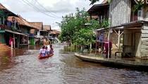 Banjir Rendam 3 Kecamatan di Musi Rawas Utara Sumsel