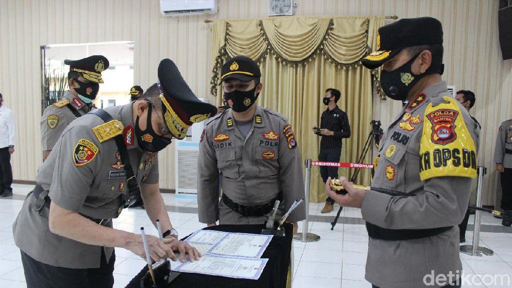 Brigjen Ery Nursatari Dilantik Jadi Wakapolda Banten