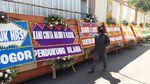 Deretan Karangan Bunga untuk Habib Rizieq di RS UMMI Bogor