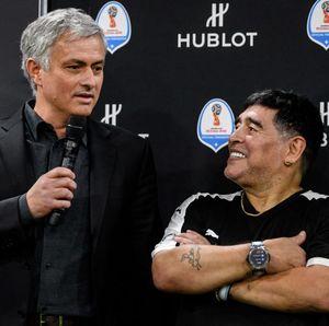 Mourinho: Maradona Selalu Ada Ketika Aku Kalah