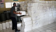 Distribusi Logistik Pilkada Kota Depok