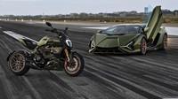 Motor Ducati Kesurupan Supercar, Jadilah Diavel Lamborghini 1260