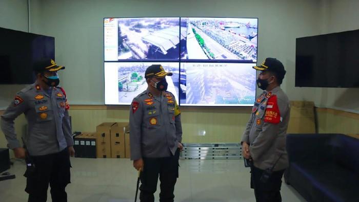 Foto: Kapolda Metro Cek Command Center Polres Pelabuhan Tanjung Priok (Dok. istimewa)