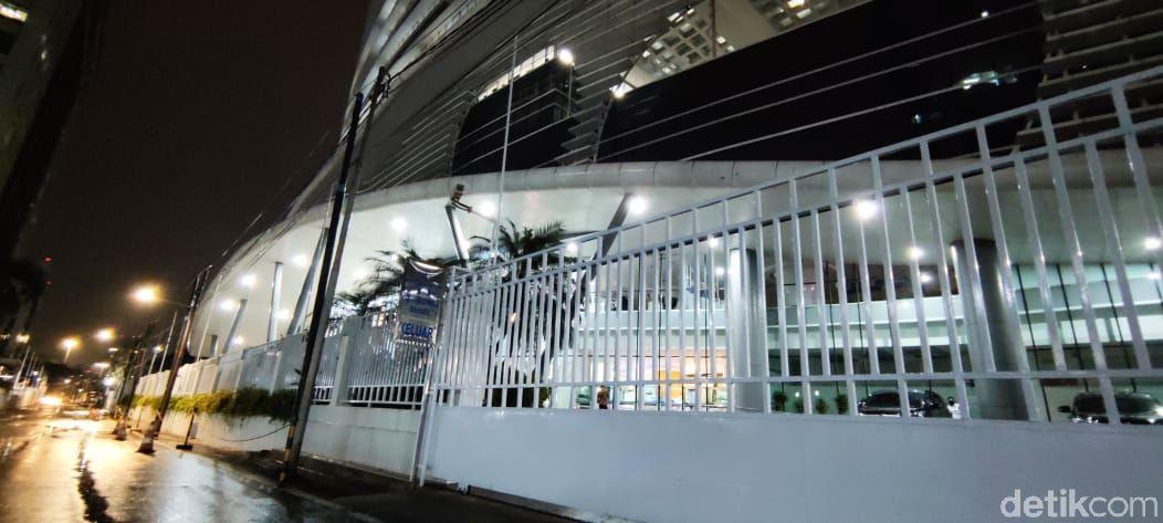 Gedung Mina Bahari IV, digeledah KPK. (Taufieq Renaldi/detikcom)