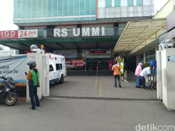 Habib Rizieq dirawat di RS Ummi Bogor (Sachril Agustin/detikcom)