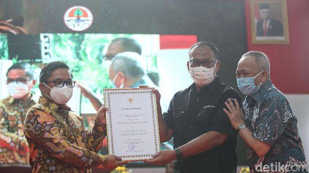 Peluncuran buku 'Bonita Hikayat Sang Raja' karya almarhum wartawan senior detikcom, Haidir Anwar Tanjung digelar di Jakarta.