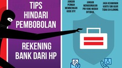 Cegah Pembobolan Rekening Bank dari HP!