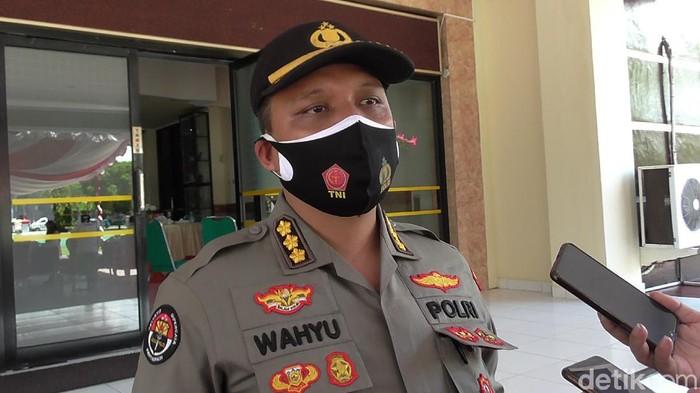 Kabid Humas Polda Gorontalo, Kombes Wahyu Tri Cahyono (Ajis Khalid/detikcom)