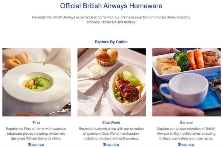 Sensasi Makan Ala Pesawat British Airways