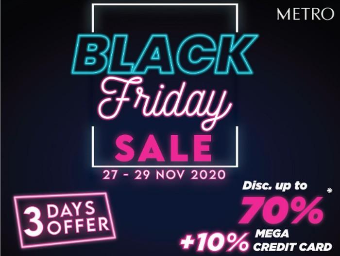 Metro Department Store Black Friday Sale