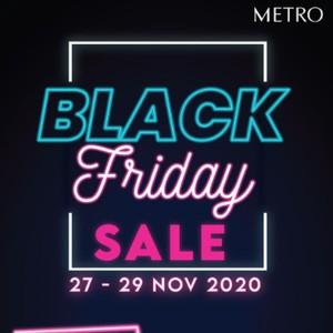 Black Friday Sale, Metro Department Store Diskon Hingga 70%