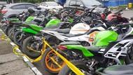 Pakai Knalpot Brong, 33 Motor di Palembang Disita Polisi