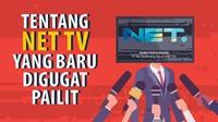 Tentang NET TV yang Baru Digugat Pailit