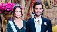 Potret Serasi Pasangan Pangeran Carl dan Putri Sofia yang Positif COVID-19