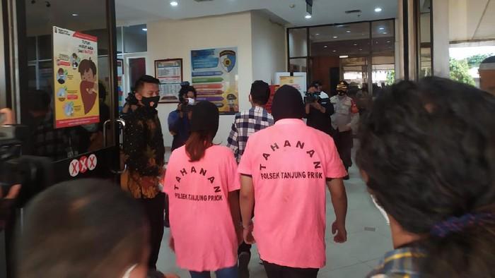 Polisi rilis kasus prostitusi artis dan selebgram di Sunter, Jakut.