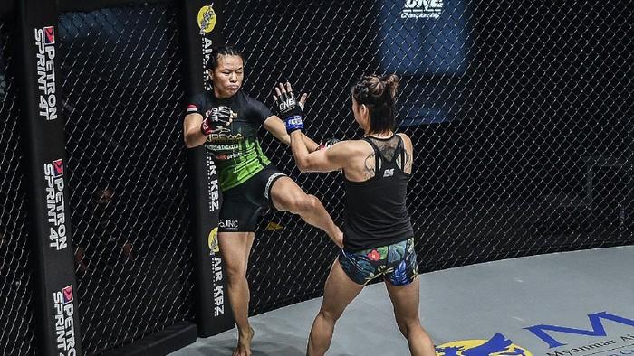 Priscilla Hertati Lumbangaol ingin tampil di ONE Atomweight