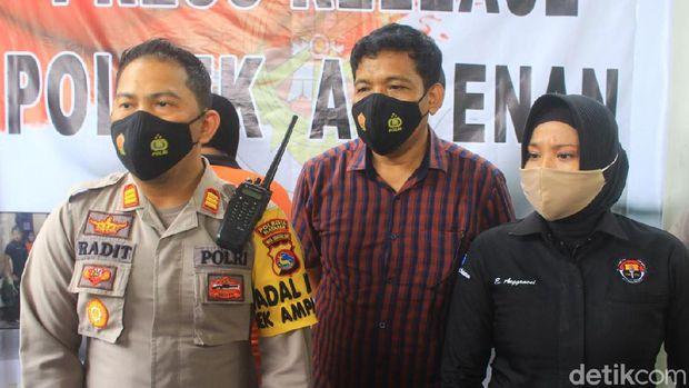 RA (35, warga Ampenan Selatan, NTB, ditangkap polisi setelah menggadai belasan mobl rental (dok Istimewa)