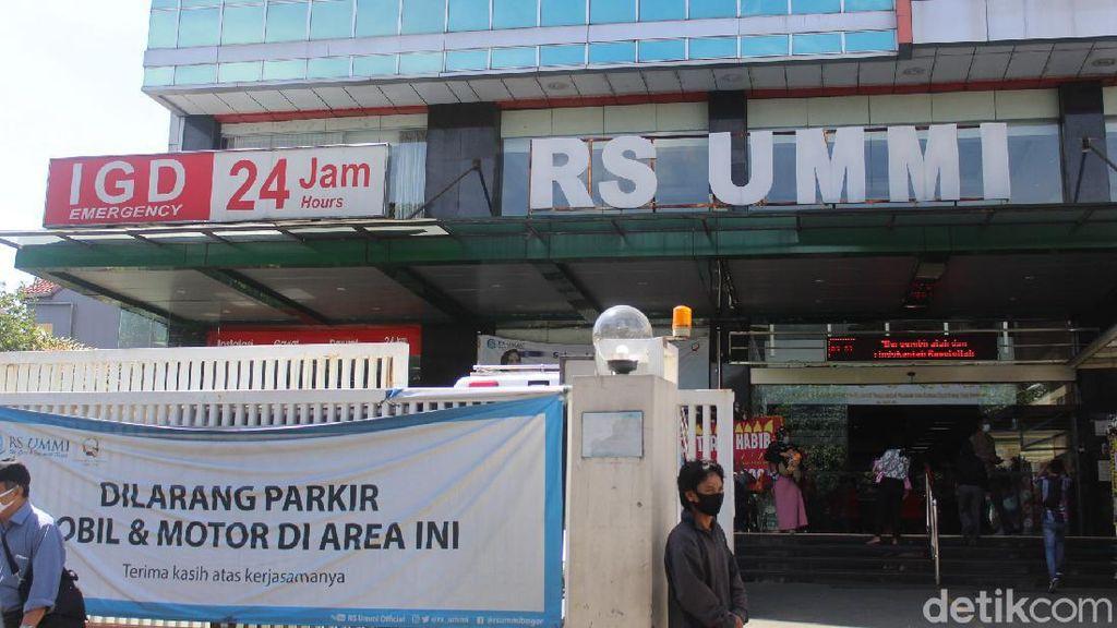 Polisi Akan Periksa 3 Dokter RS UMMI Bogor yang Rawat Habib Rizieq Hari Ini