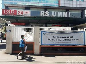 Cerita Sekuriti Habib Rizieq Tinggalkan RS UMMI Lewat Pintu Belakang