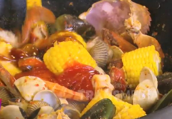Seafood Ambyar Topping Keju Leleh