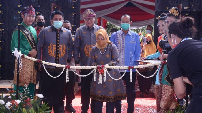 Tjahjo Kumolo resmikan mal pelayanan publik di Palembang (Raja Adil-detikcom)