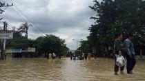 Banjir Terjang Kawasan Kota Tebing Tinggi, Ribuan Rumah Terendam