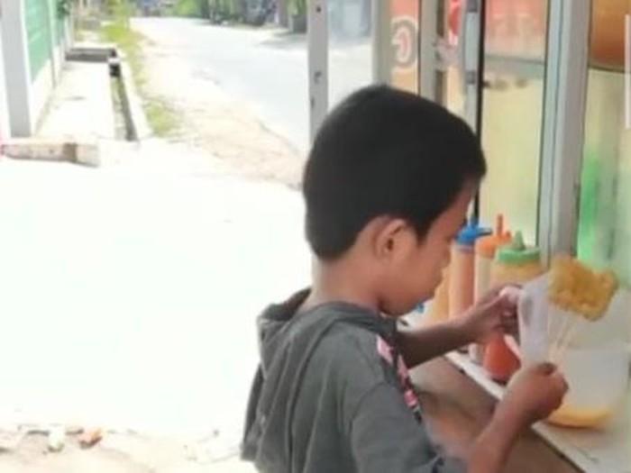Bocah Penjual Cilor